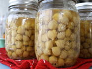 Pressure Canning Chick Peas